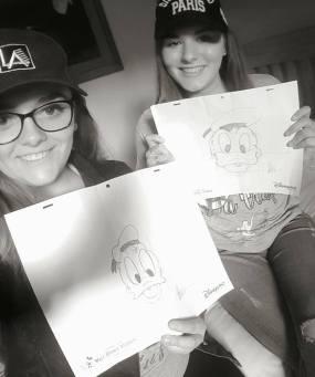 donald duck drawing class