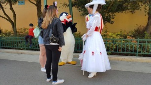 talking to mary poppins