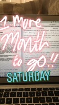 course work 1 month