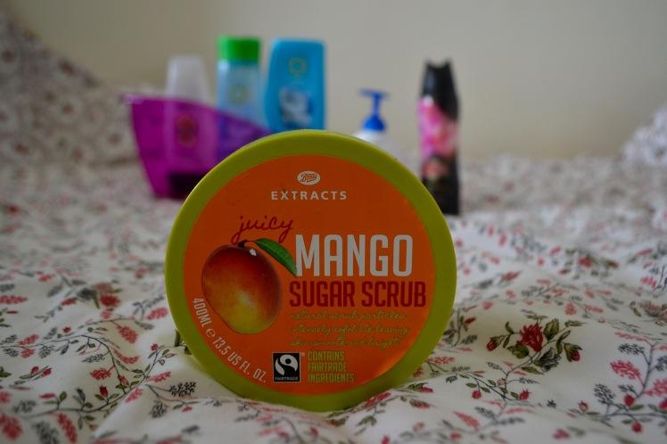 mango sugar scrub