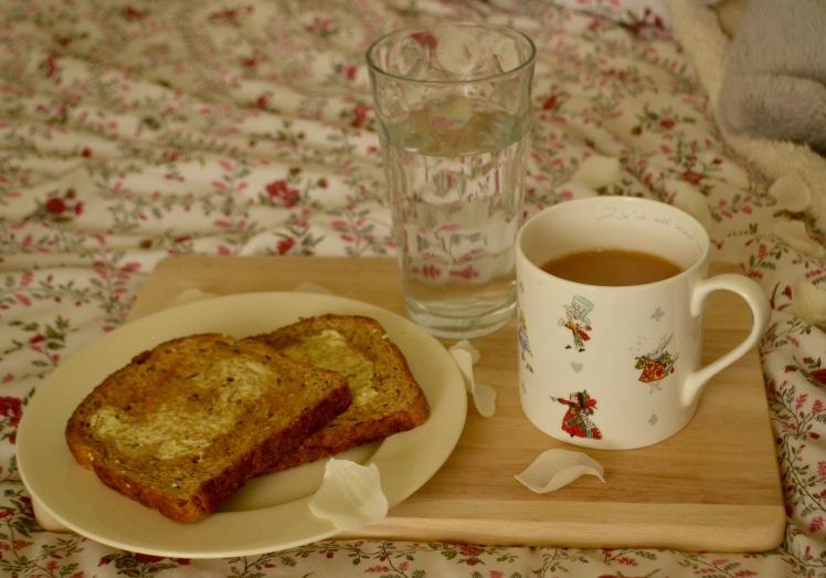 tea and snacks