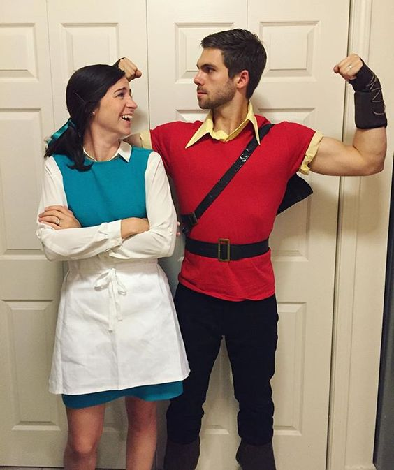 belle and gaston costumes